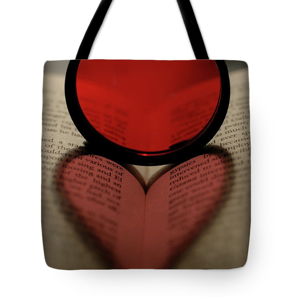 Filter Heart Tote Bag featuring the photograph Filter Heart 2 by Matthew Fox