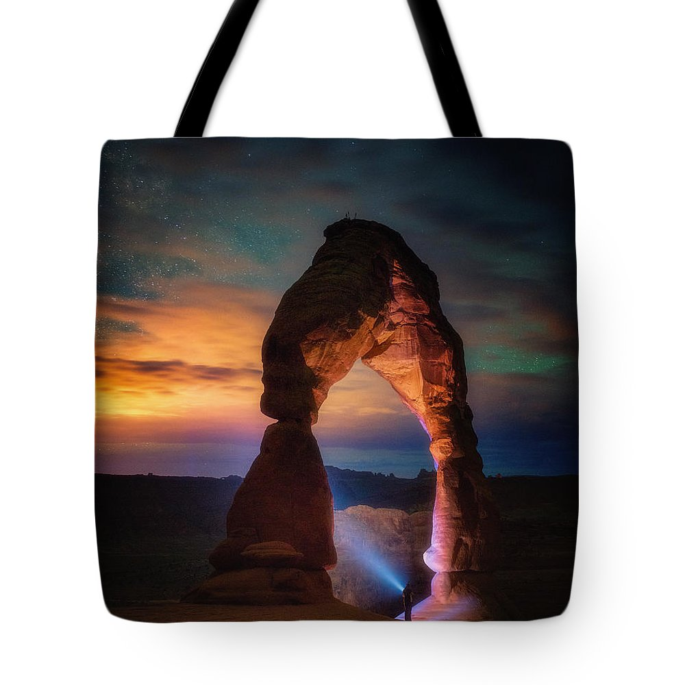 Arches National Park Tote Bags