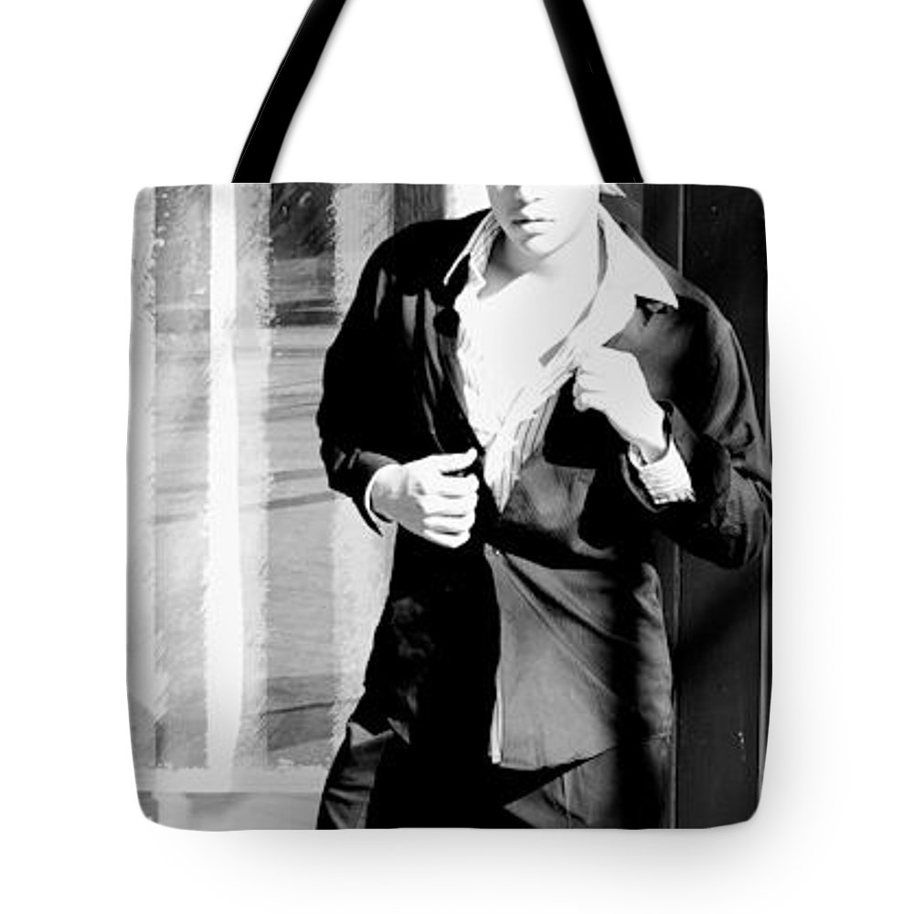 America Tote Bag featuring the photograph Fine American Model by Angus Hooper Iii
