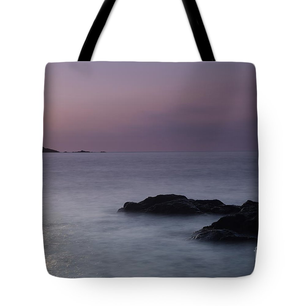 Fine Art- St Ives At Sunset By Phill Potter Tote Bag featuring the photograph Fine Art- St Ives At Sunset By Phill Potter by Jenny Potter
