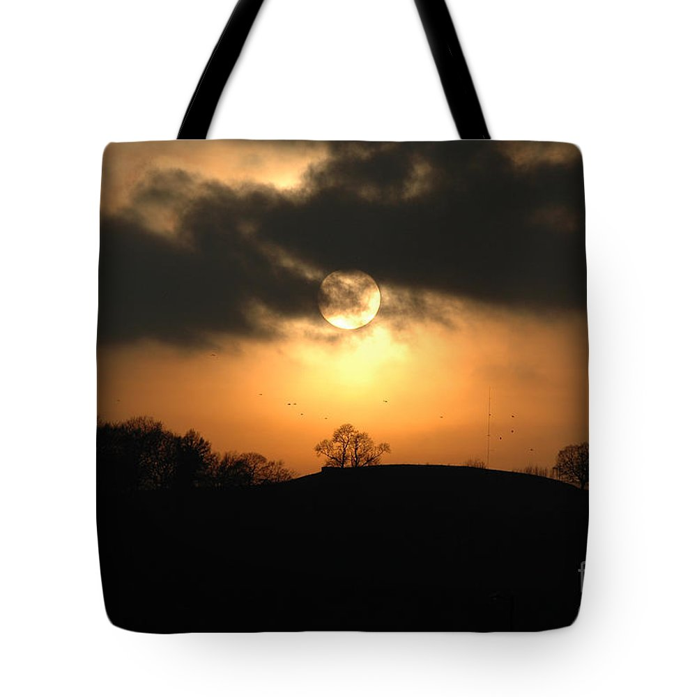 Sunset Tote Bag featuring the photograph Fine Art - Sunset 4 by Jenny Potter