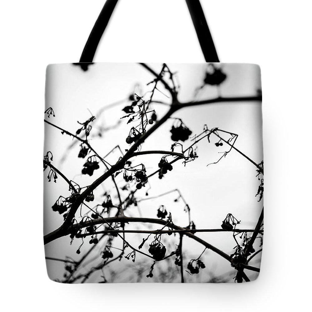 Cloudy Tote Bag featuring the photograph Fineart-nature-4 by Preben Stentoft