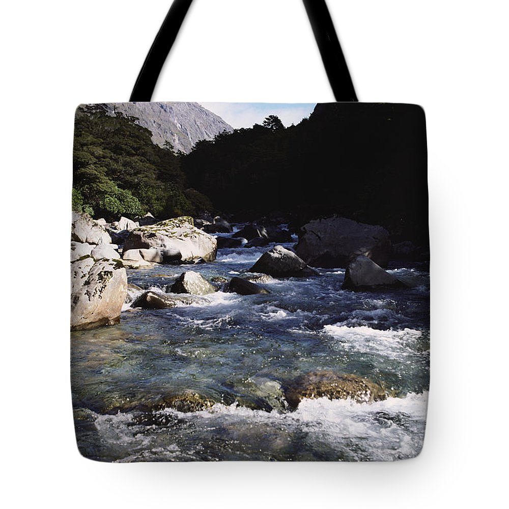 Beautiful Tote Bag featuring the photograph Fiordlands National Park by Doug Cameron - Printscapes