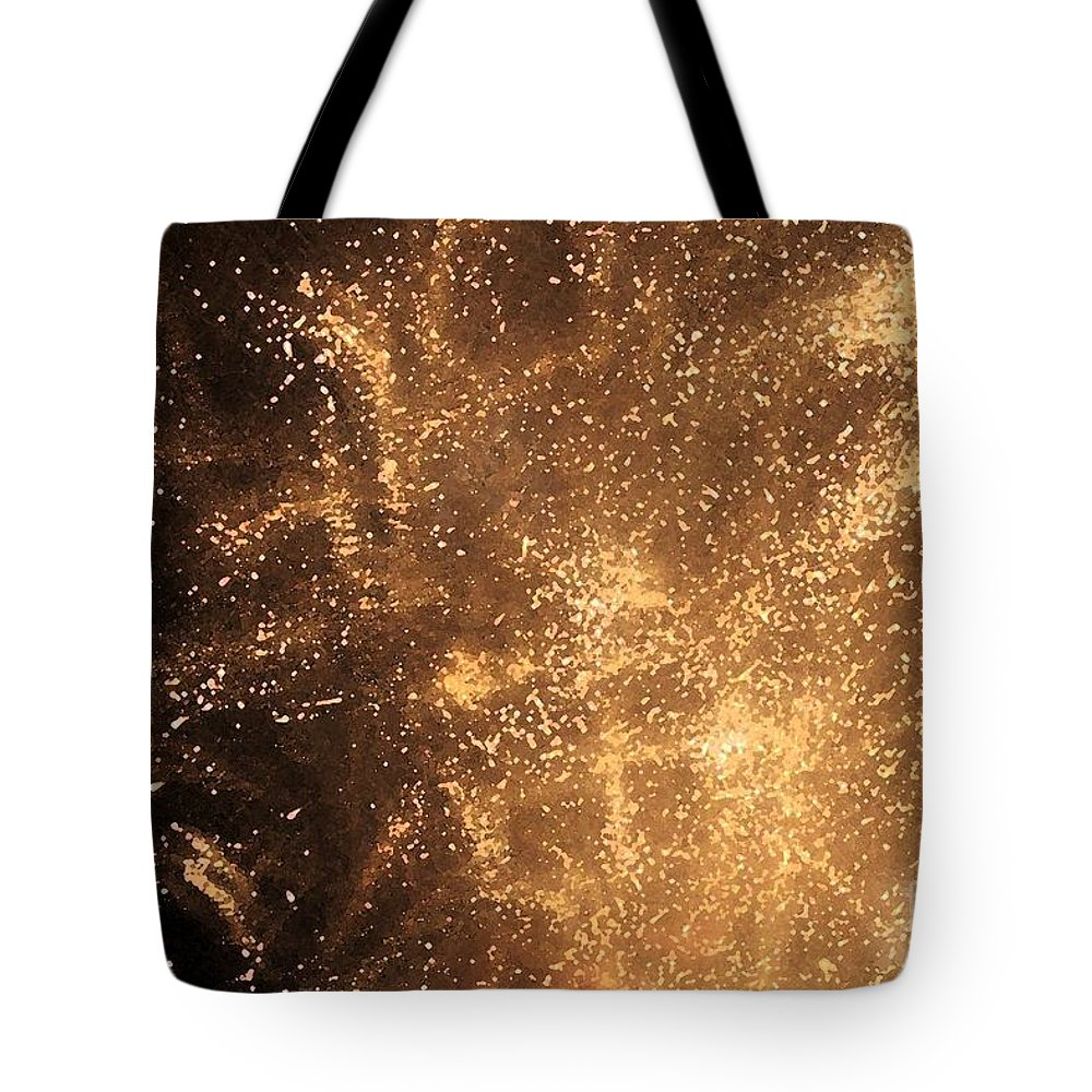 Fireworks Tote Bag featuring the photograph Fired Up by Debbi Granruth