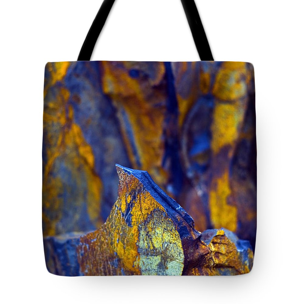 Texture Tote Bag featuring the photograph First Cut is the Deepest by Skip Hunt