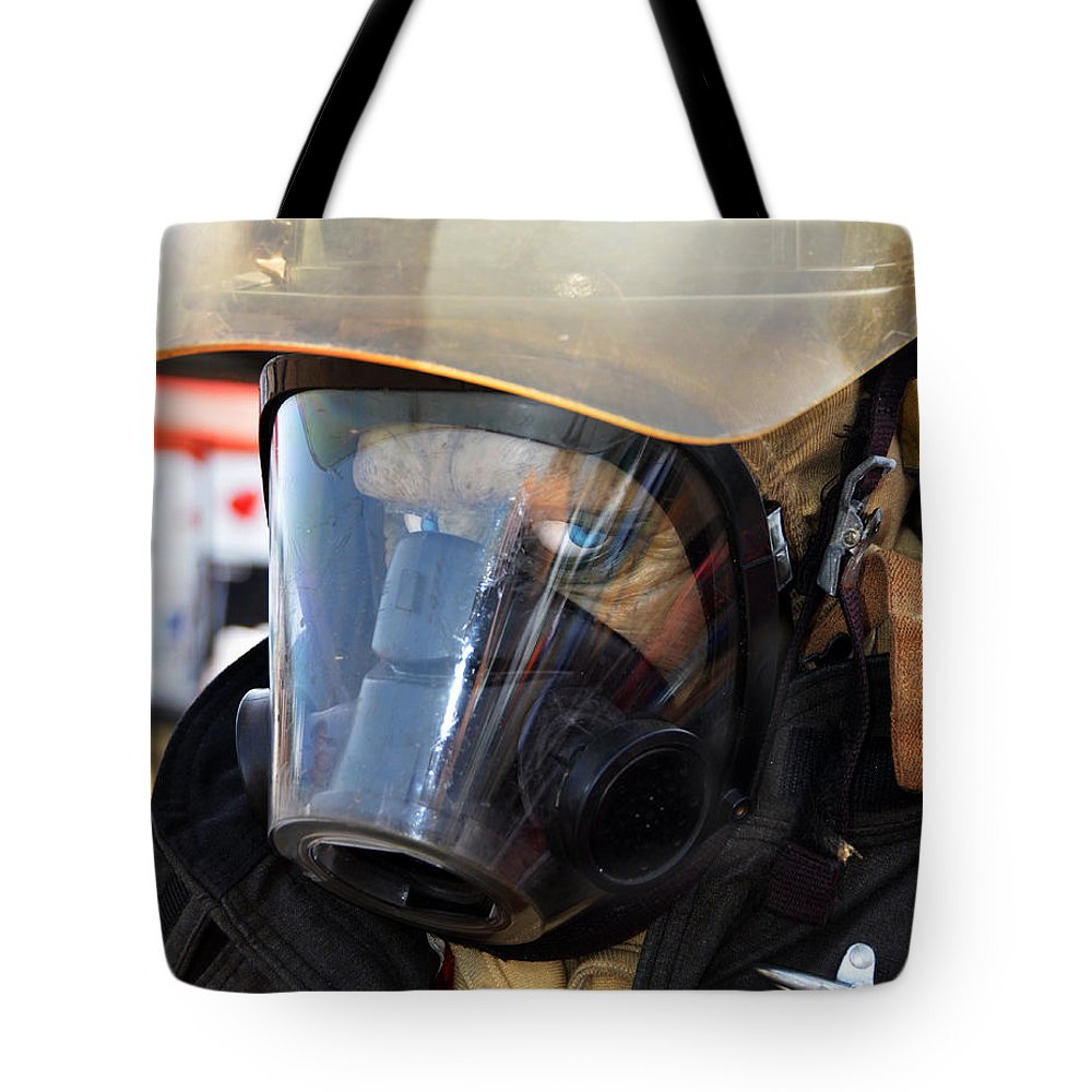 Florida Tote Bag featuring the digital art First Responder by Roger Leege