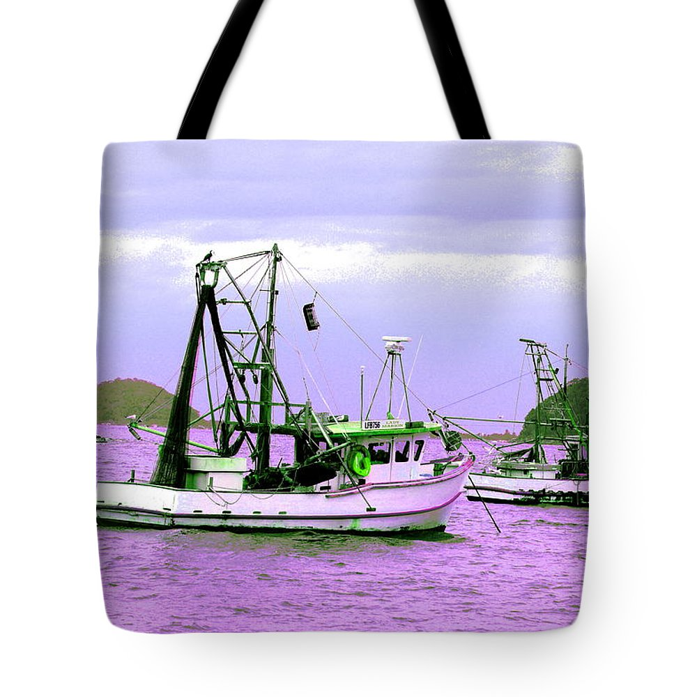 Australia Tote Bag featuring the photograph Fishing Boats At Pearl Beach 1.0 by Giro Tavitian