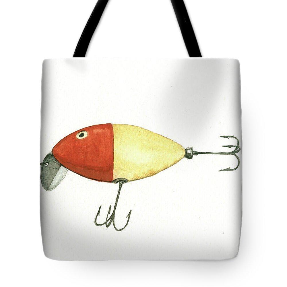 Fishing Lure Tote Bags