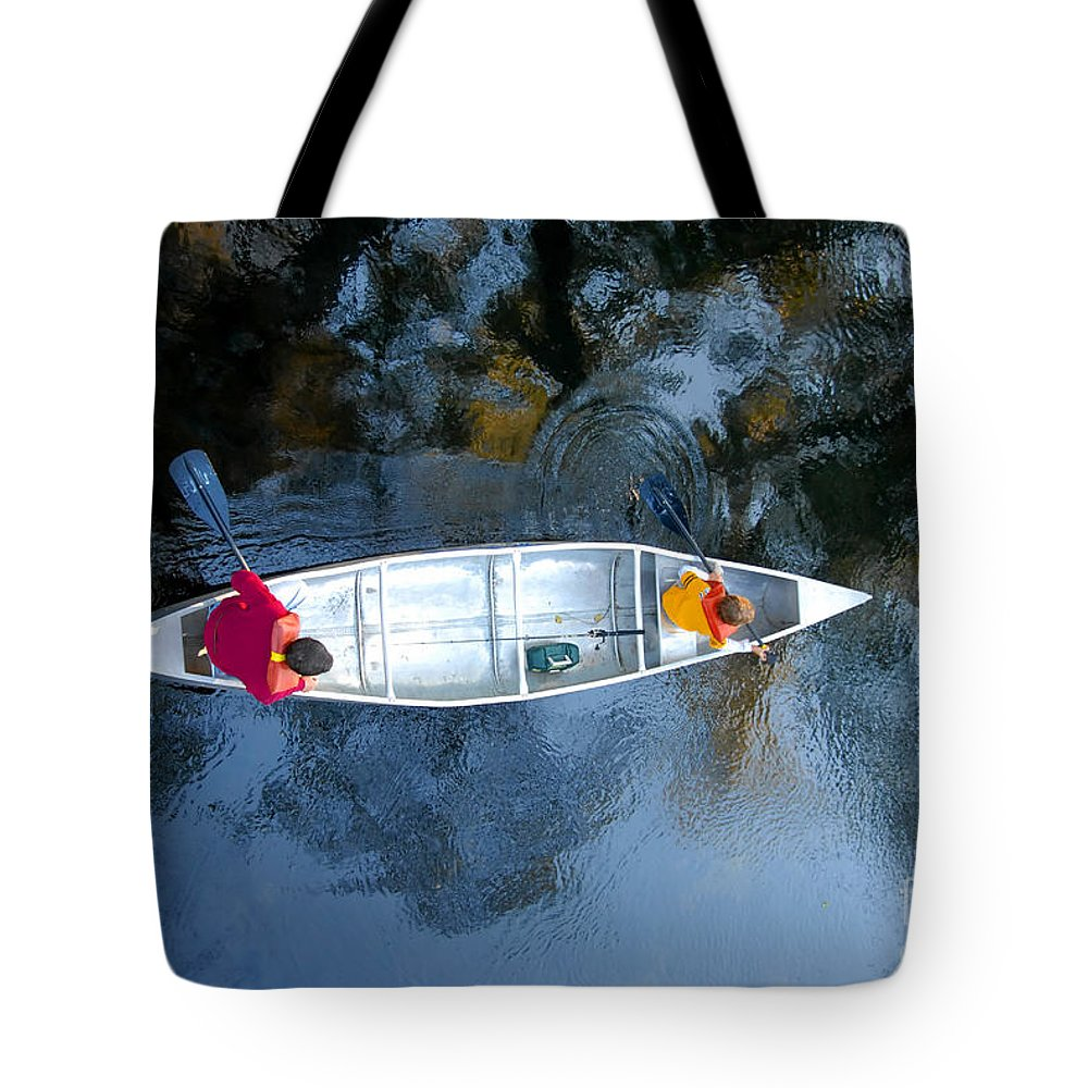 Father Tote Bag featuring the photograph Fishing Trip by David Lee Thompson
