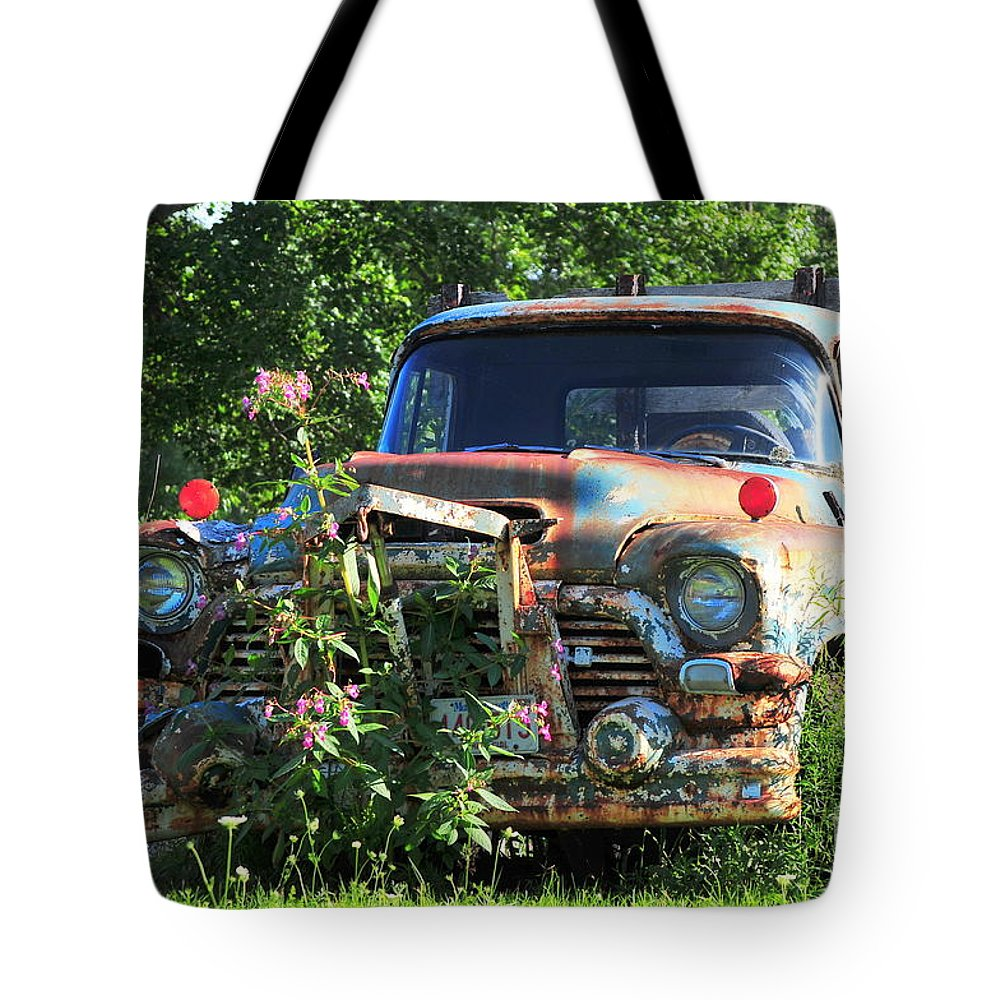 New England Tote Bag featuring the photograph Fixer Upper by Catherine Reusch Daley