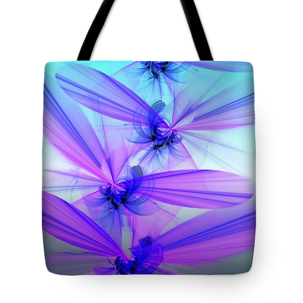 Fantasy Tote Bag featuring the digital art Flight by David Lane