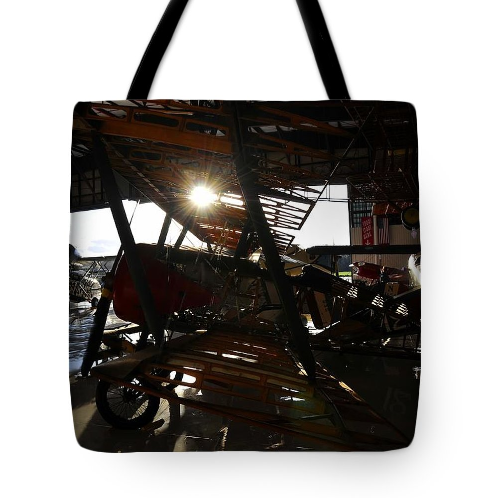 Hanger Tote Bag featuring the photograph Flights Of Fancy by David Lee Thompson