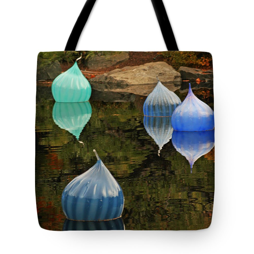 Float Tote Bag featuring the photograph Float by Ben Zell