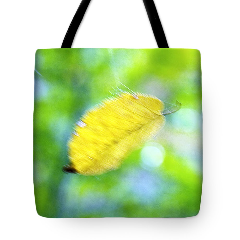Abstract Tote Bag featuring the photograph Floating by Carl Ellis