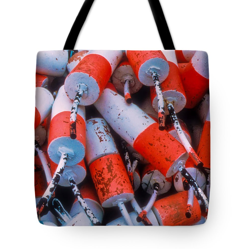 Floats Tote Bag featuring the photograph Floats by Thomas Marchessault