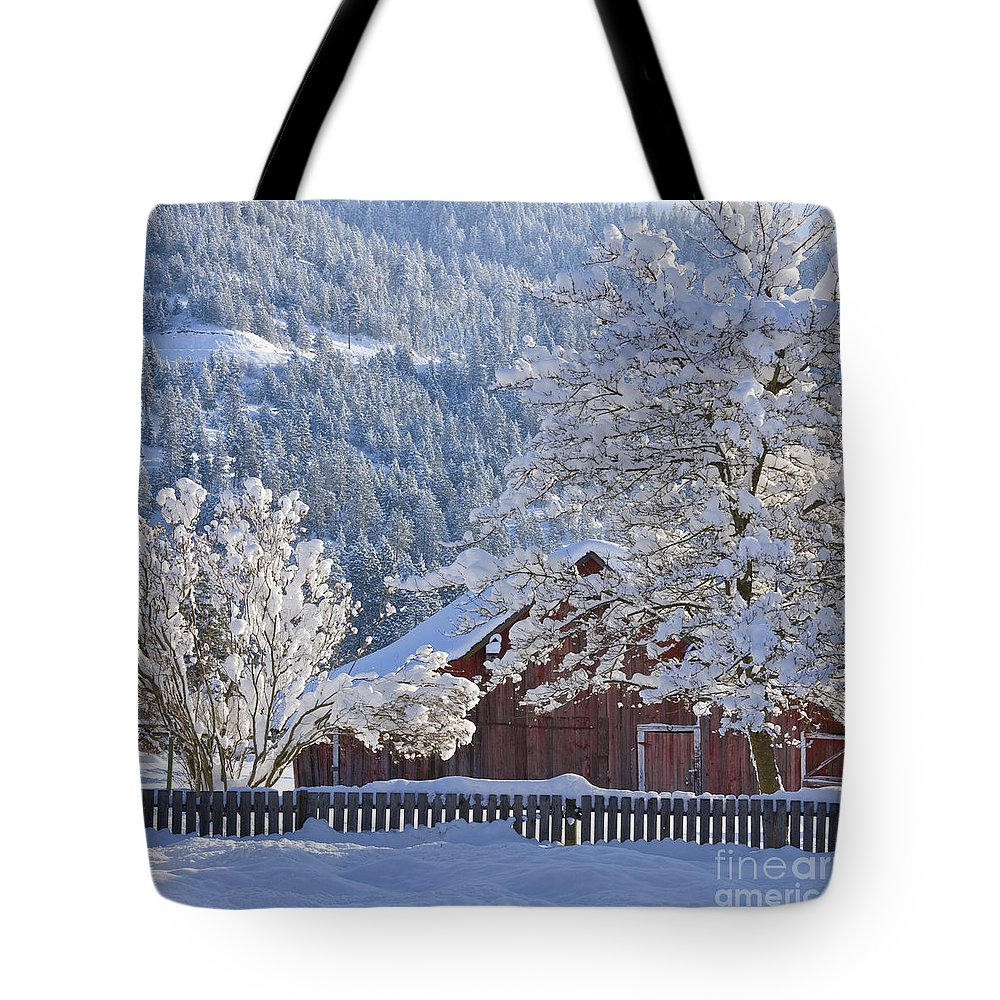 Flocked Tote Bag featuring the photograph Flocked by Idaho Scenic Images Linda Lantzy