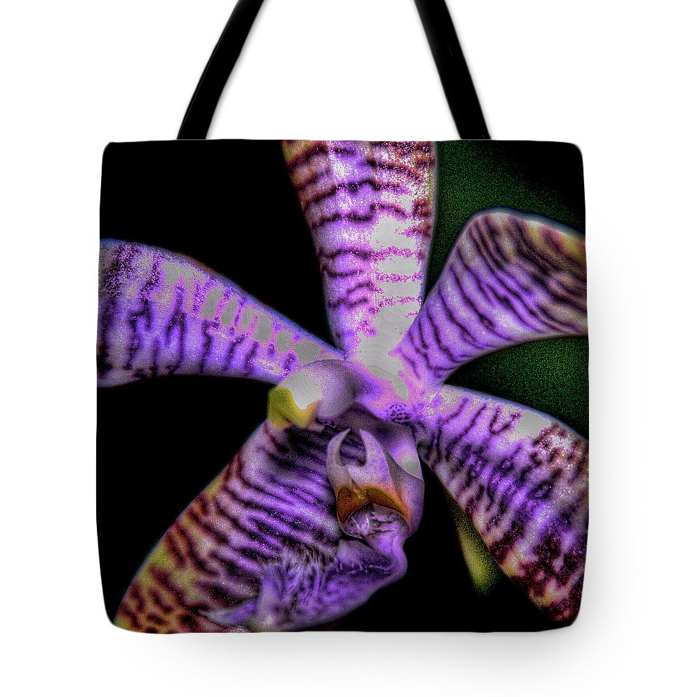 Flower Tote Bag featuring the photograph Floral 1 by David Patterson