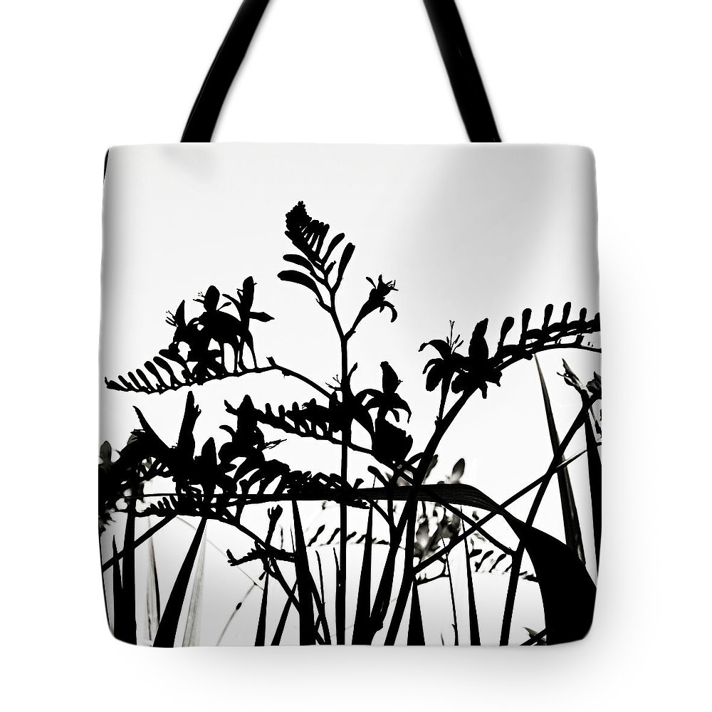 Floral Tote Bag featuring the photograph Floral Abstract by Marilyn Hunt