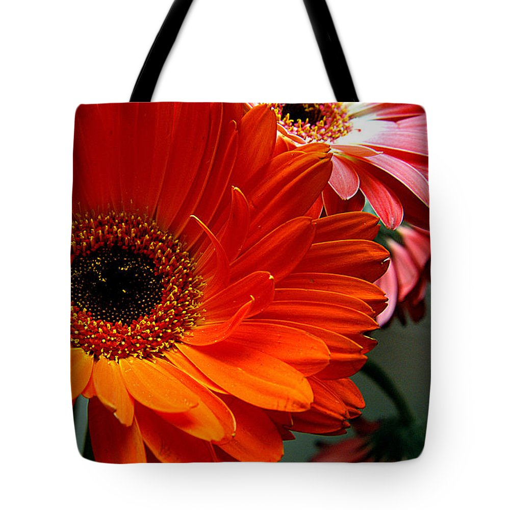 Clay Tote Bag featuring the photograph Floral Art by Clayton Bruster