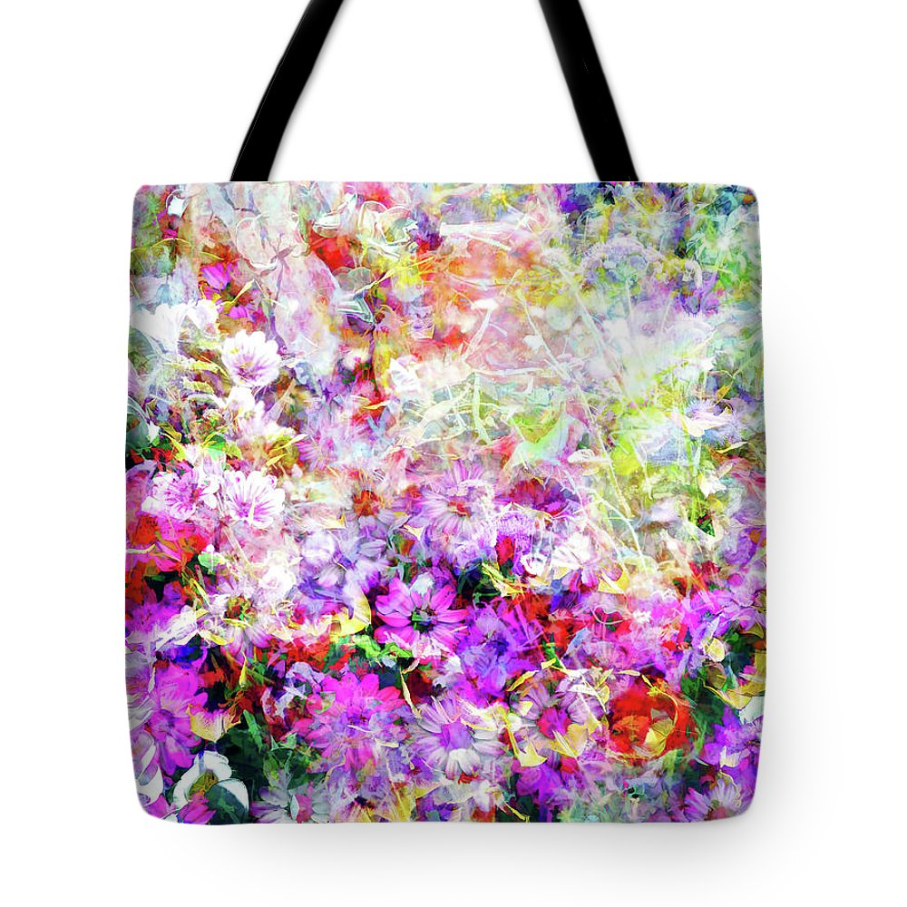 Flowers Tote Bag featuring the photograph Floral Art Clvi by Tina Baxter