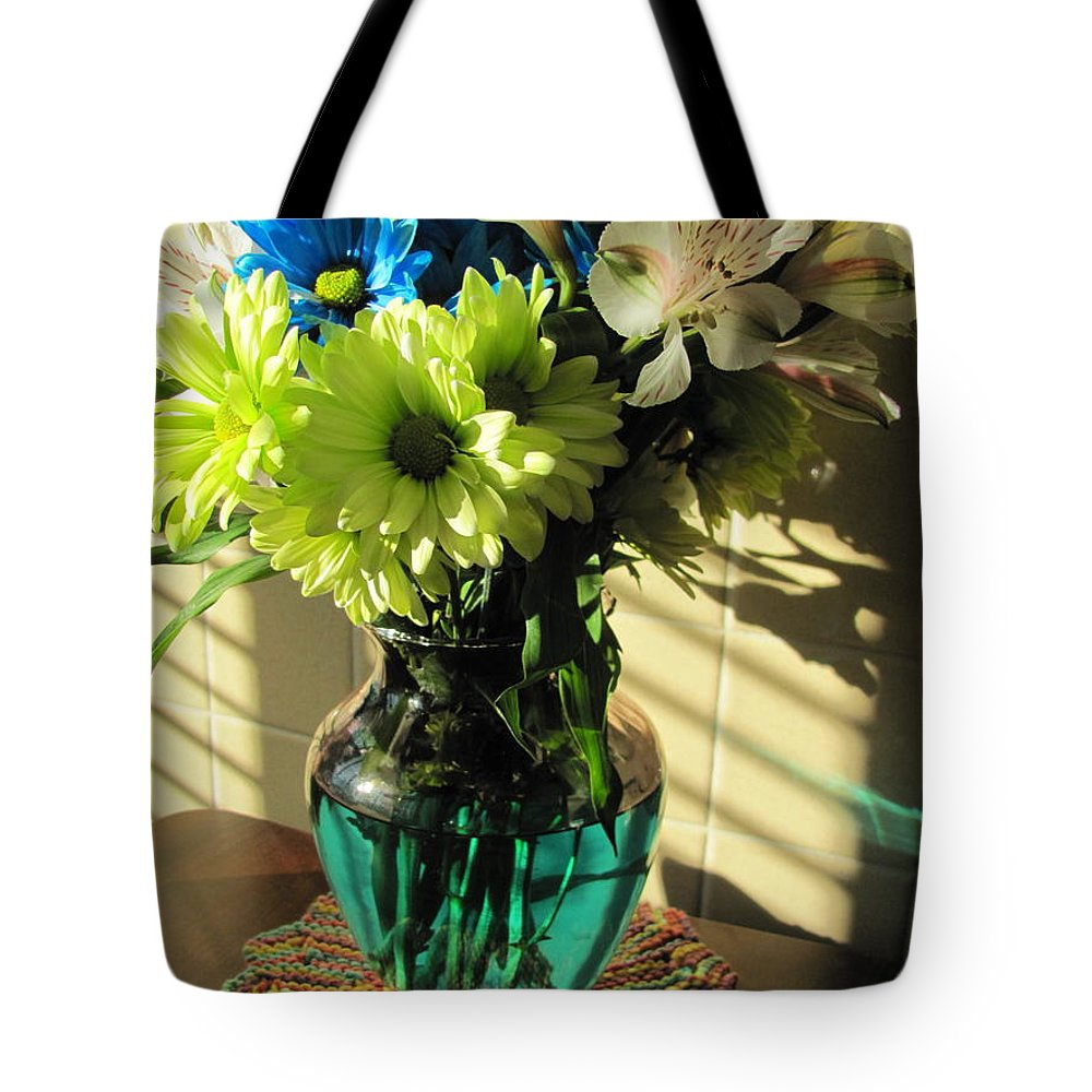 Flowers Tote Bag featuring the photograph Floral Bouquet 3 by Anita Burgermeister