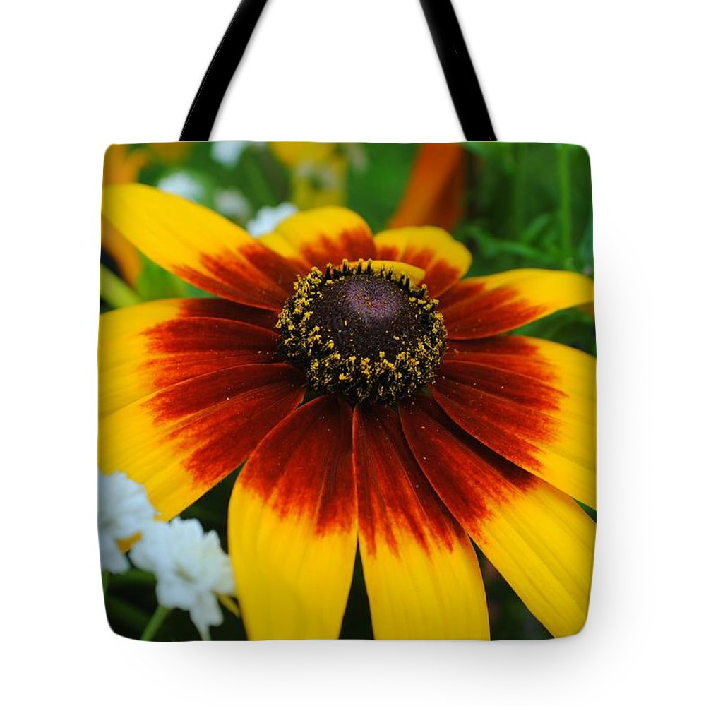 Floral Tote Bag featuring the photograph Floral Fantasy by Frozen in Time Fine Art Photography