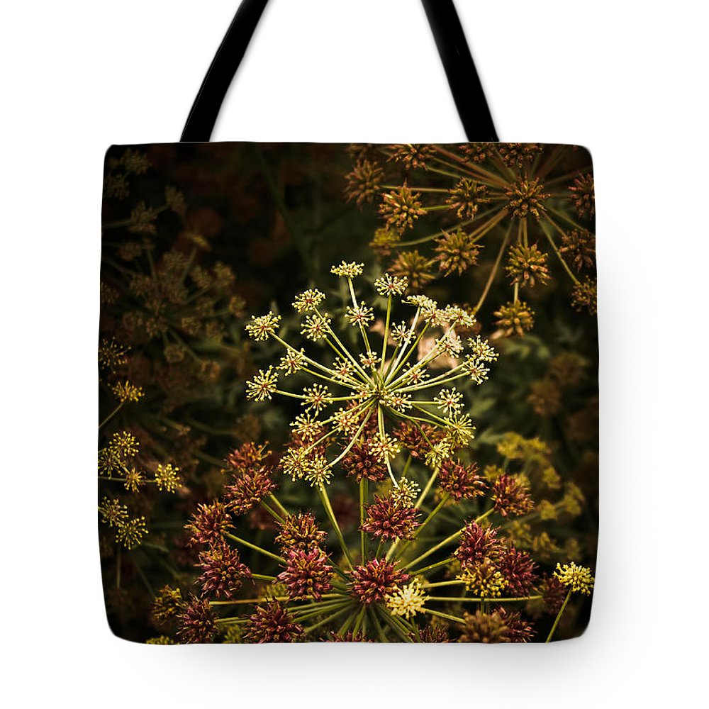 Loriental Tote Bag featuring the photograph Floral Fireworks #02 by Loriental Photography