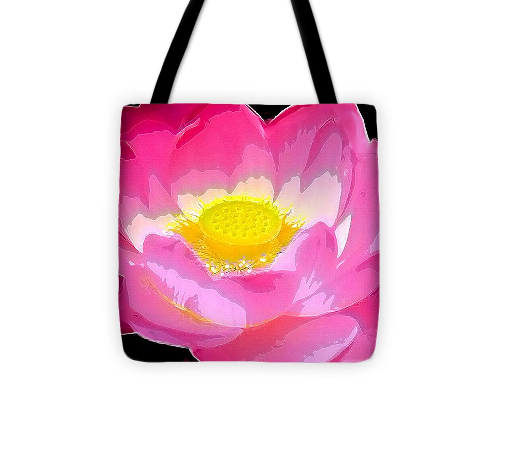 Flowers Tote Bag featuring the drawing Floral by Philip Gresham