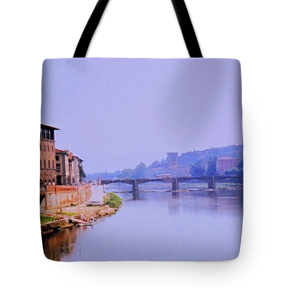 Florence Tote Bag featuring the photograph Florence by Ian MacDonald