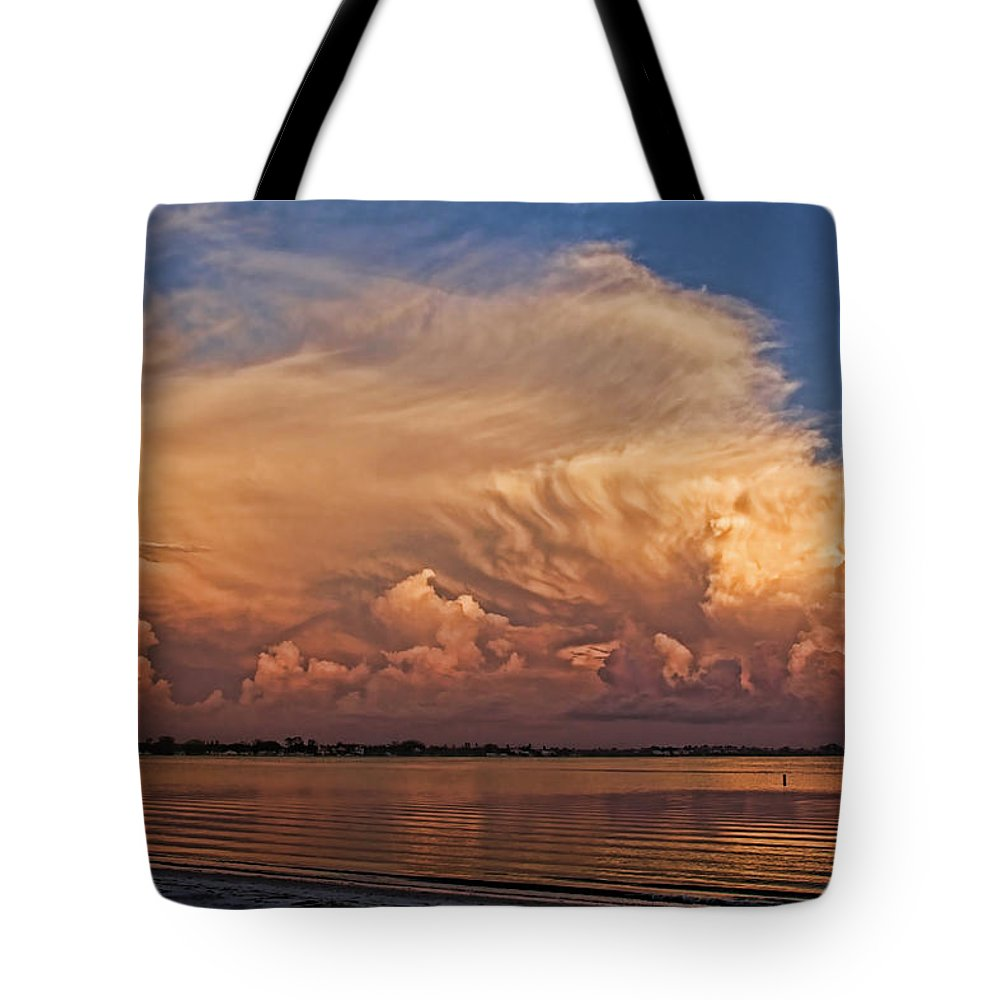 Cumulonimbus Tote Bag featuring the photograph Florida Cloudscape by HH Photography of Florida