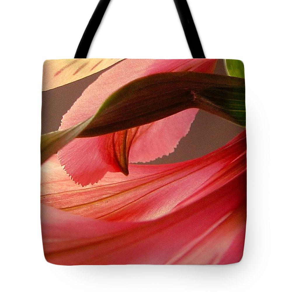 Flower Tote Bag featuring the photograph Flow by Kae Cheatham