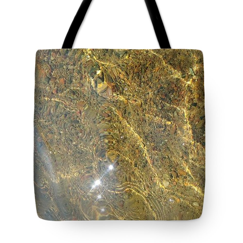 Landscape Tote Bag featuring the photograph Flow by Kristi Dick