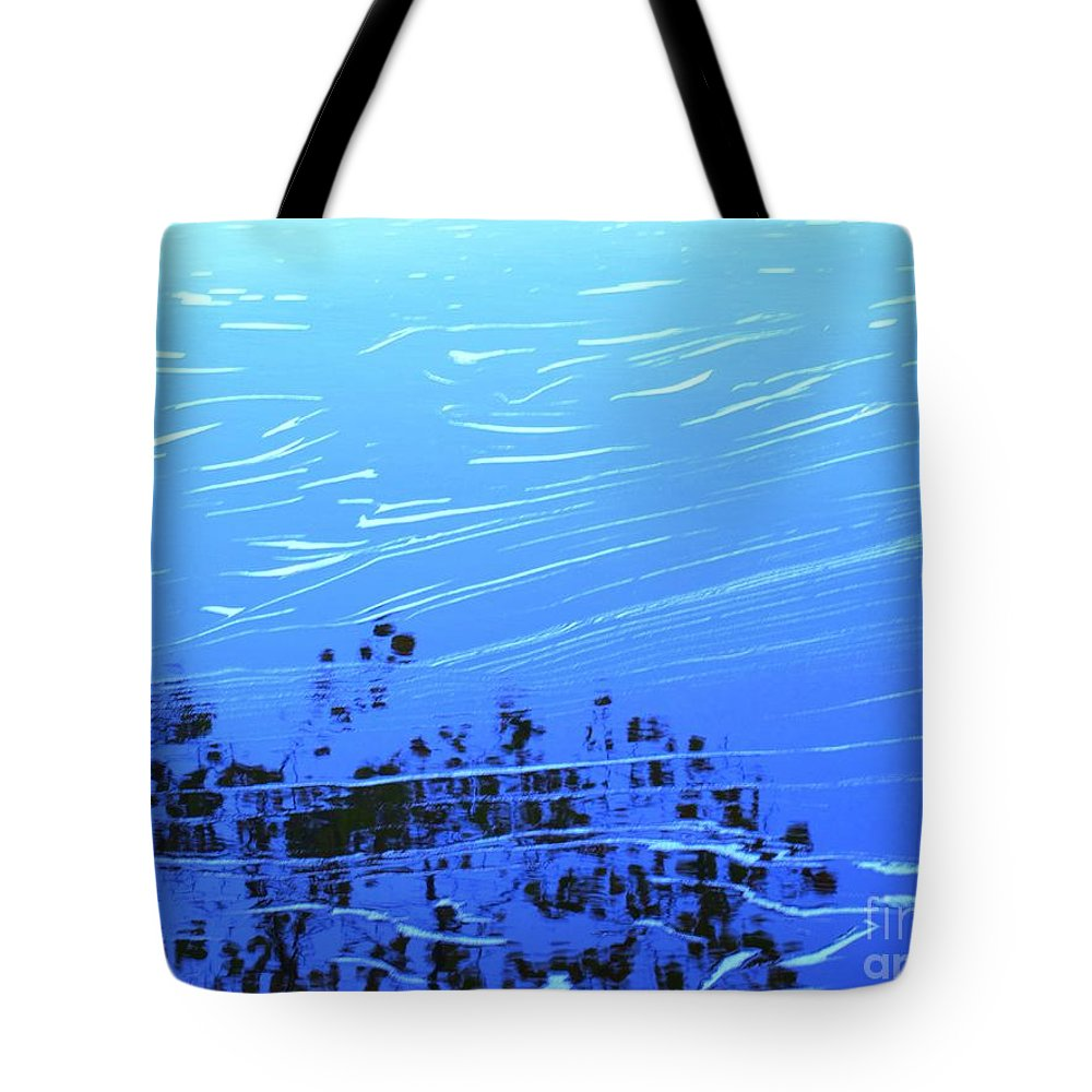 Water Tote Bag featuring the photograph Flow Of Life by Sybil Staples