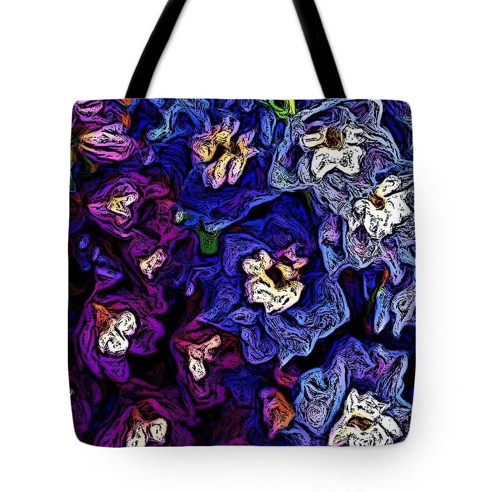 Digital Photo Tote Bag featuring the photograph Flower Arrangement II by David Lane