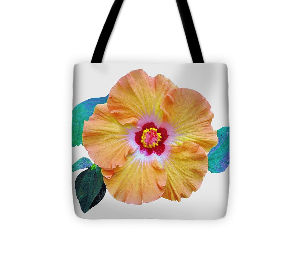 Flower Tote Bag featuring the painting Flower Delight by Susanna Katherine