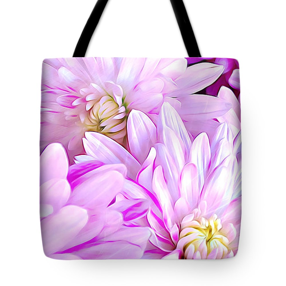 Flower Tote Bag featuring the digital art Flower by Divine Kanza