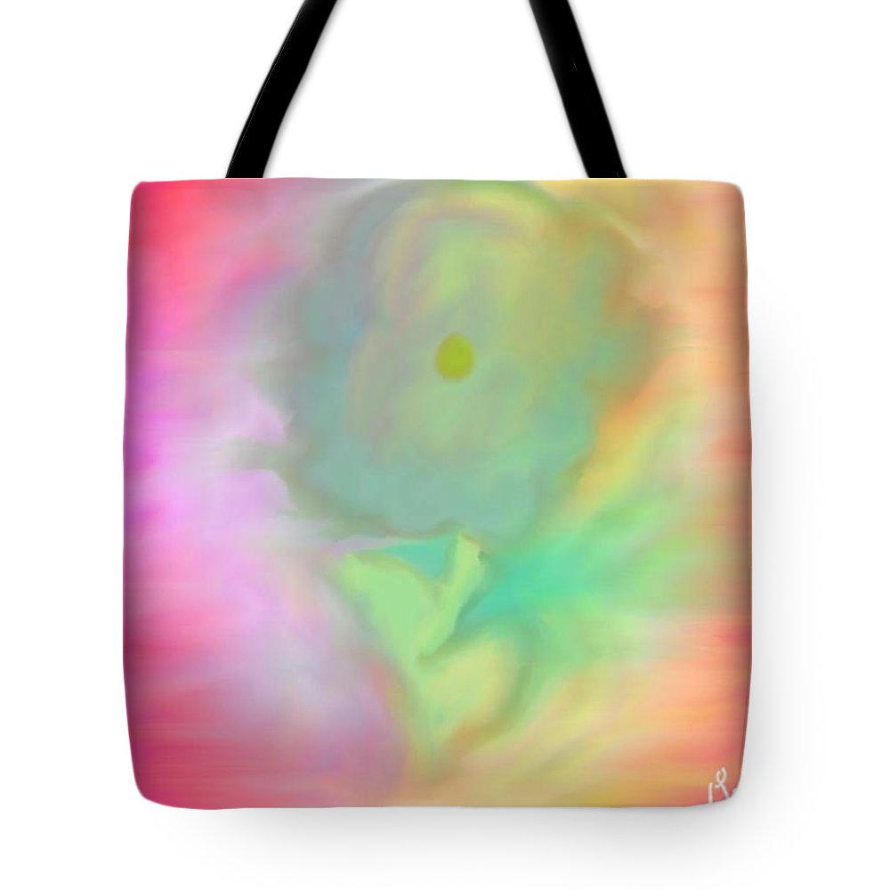 Flower Tote Bag featuring the painting Flower by Gina Lee Manley