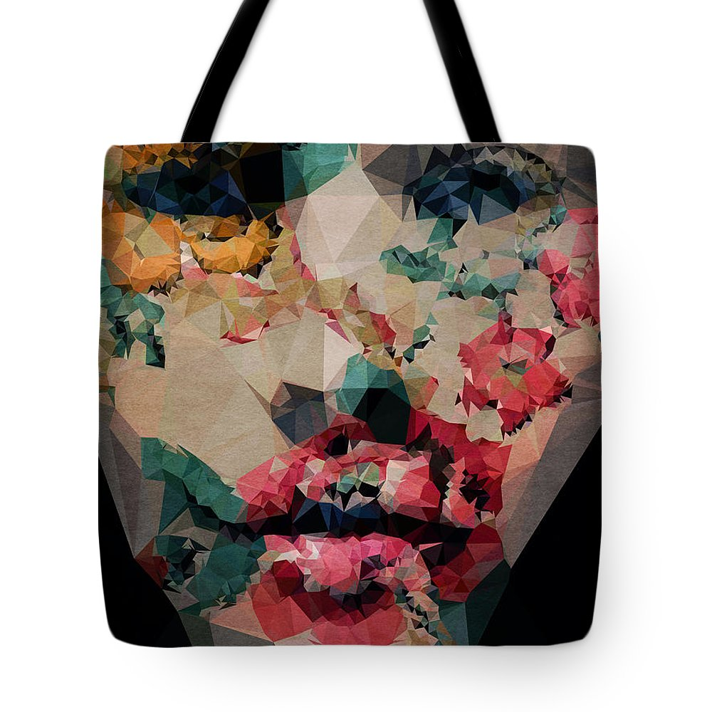 Tote Bag featuring the digital art Flower Girl by Boris Draschoff