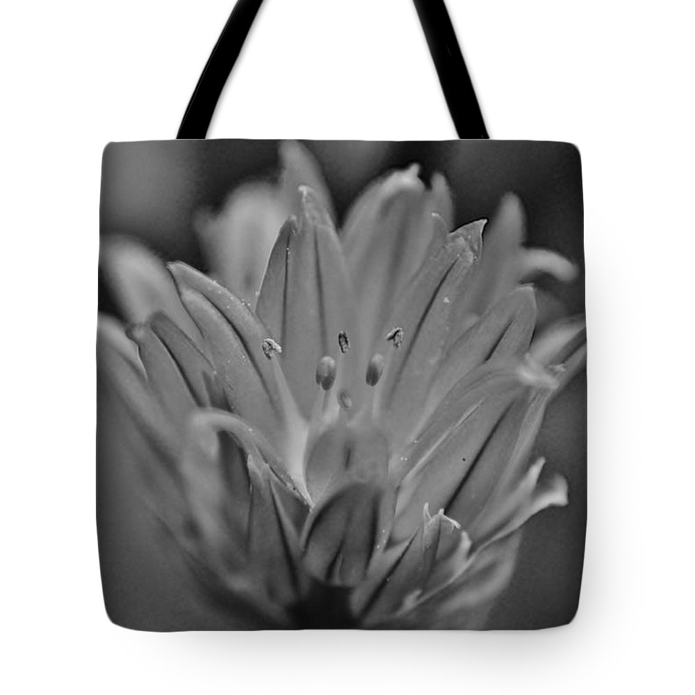 Macro Tote Bag featuring the photograph Flower Power by Christopher Caldwell