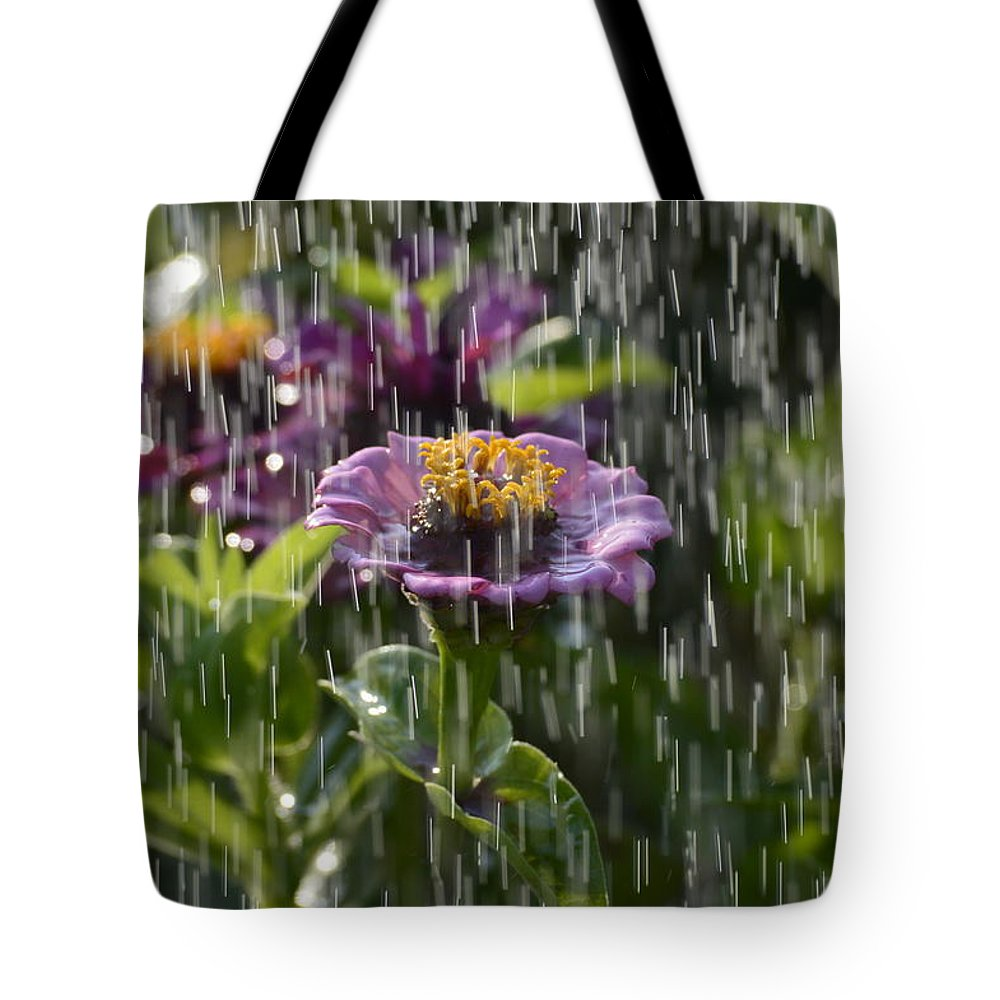 Flowers Tote Bag featuring the photograph Nourish Me by Jewels Blake Hamrick