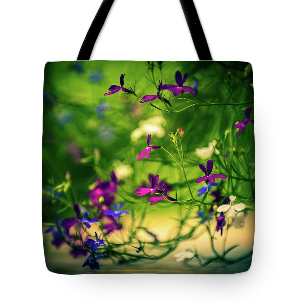 Flower Bloom Blossom Flora Garden Gardening Delicate Nature Tote Bag featuring the photograph Flower by Zuska Madar