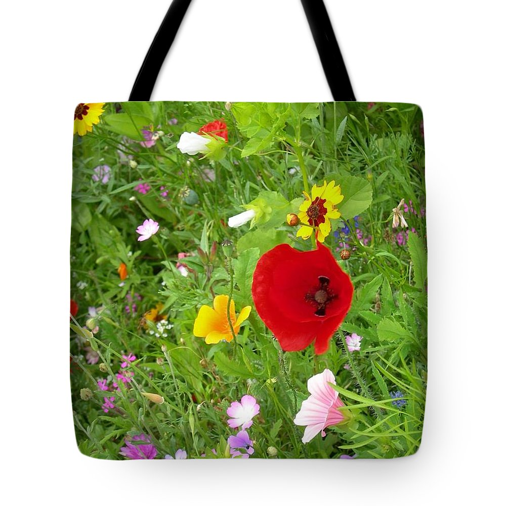 Floral Tote Bag featuring the photograph Flowers 2 by Robert Harris