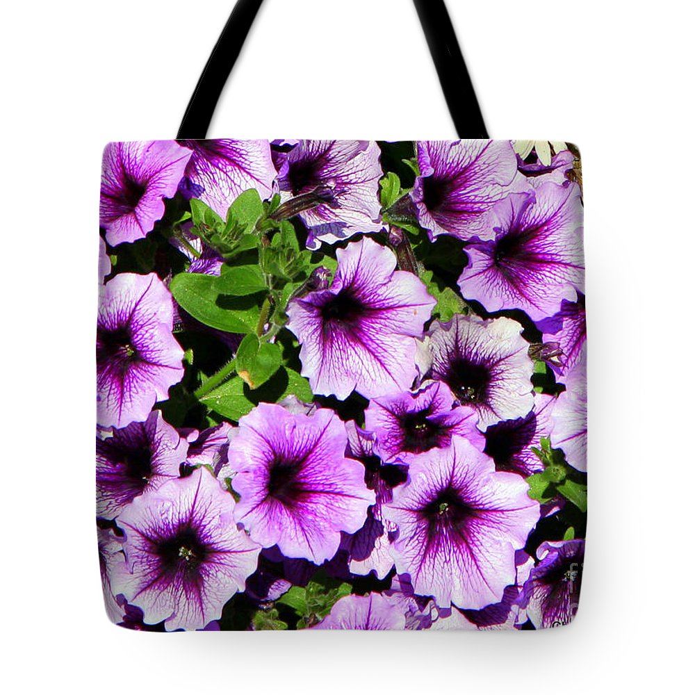 Alaska Tote Bag featuring the photograph Flowers Alaska July by Chuck Kuhn