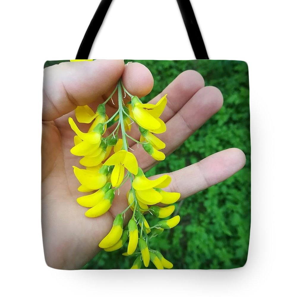 Tote Bag featuring the photograph Flowers by Daniela Buciu