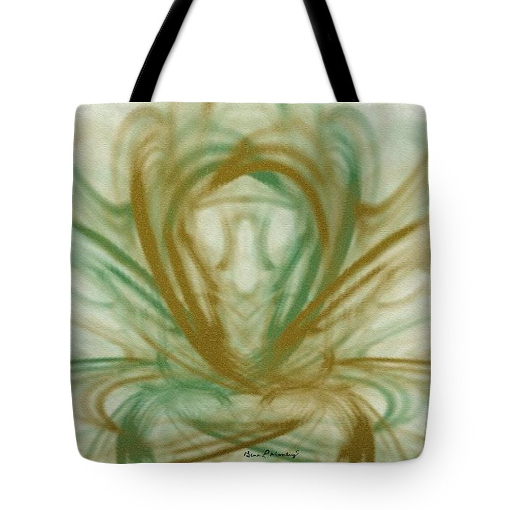 Fractal Tote Bag featuring the digital art Fluid Art by Gina Lee Manley