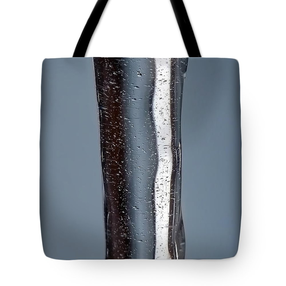 Abstract Tote Bag featuring the photograph Fluidity by Lauren Radke