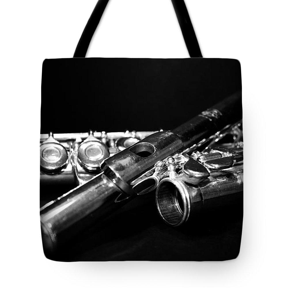 Lauren Radke Tote Bag featuring the photograph Flute Series I by Lauren Radke