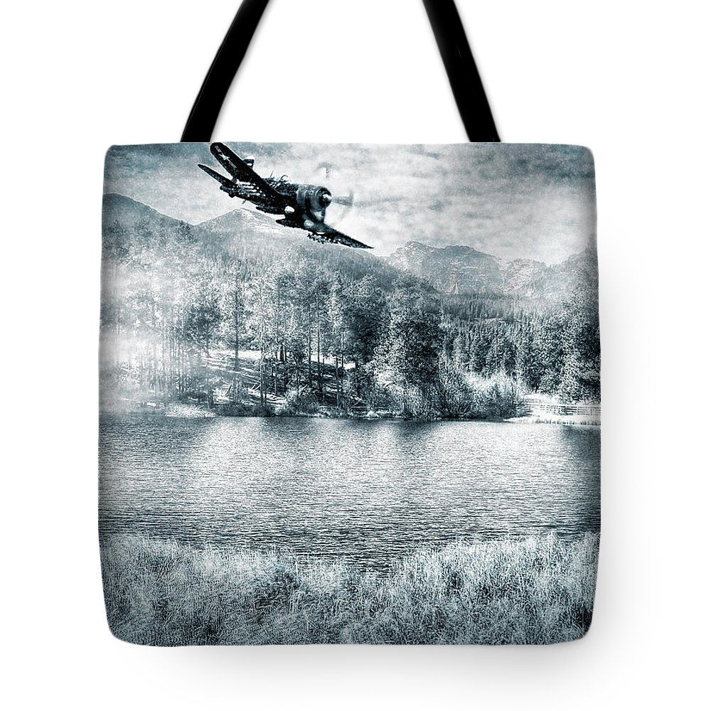 Scenery Tote Bag featuring the photograph Fly Boy by Adam Vance
