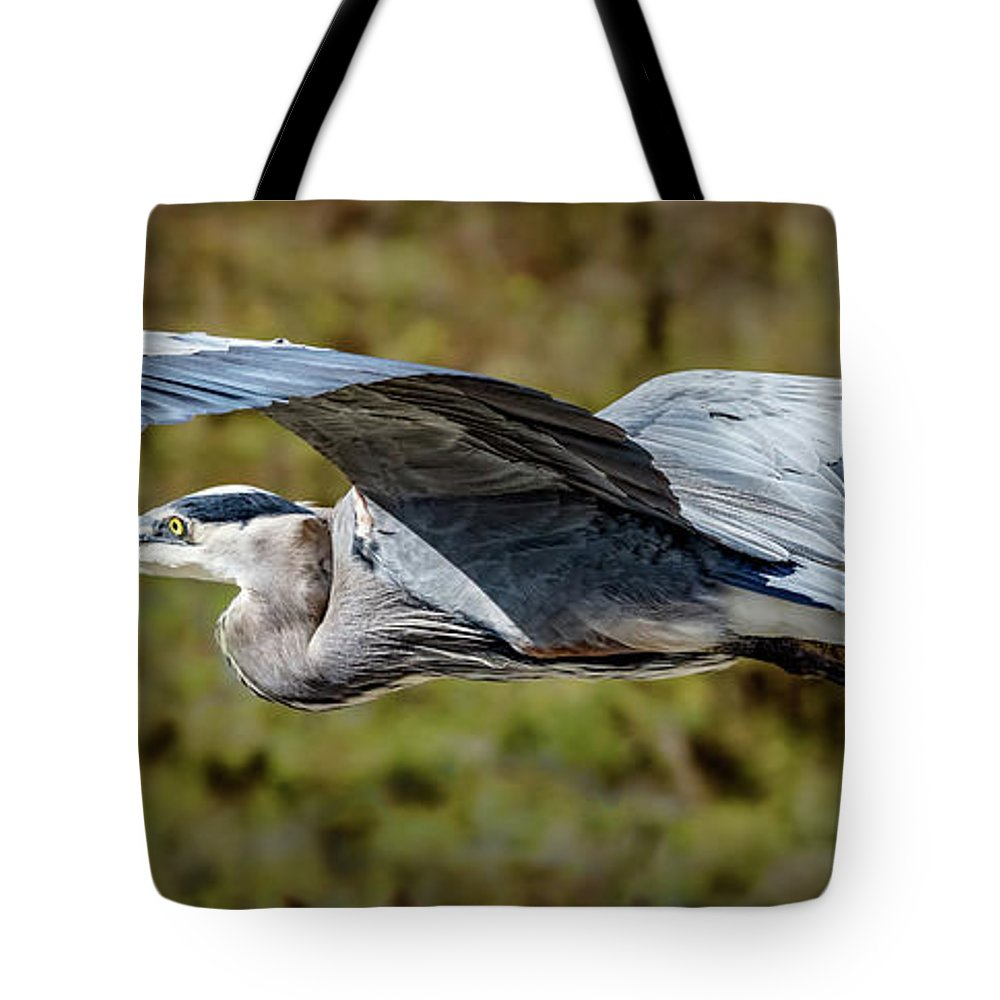 Bird Tote Bag featuring the photograph Fly By by Bruce Bonnett