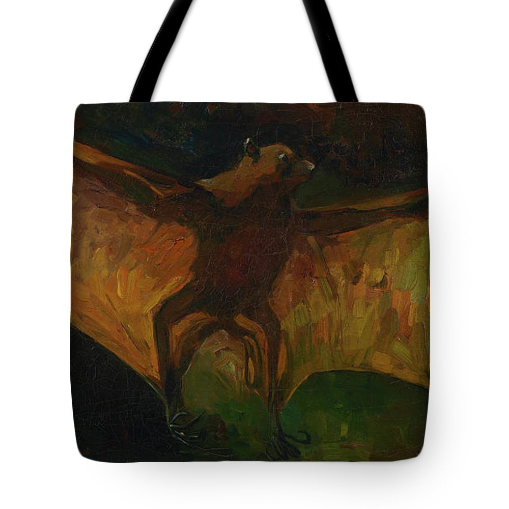 Vincent Van Gogh Tote Bag featuring the painting Flying Fox by Vincent van Gogh